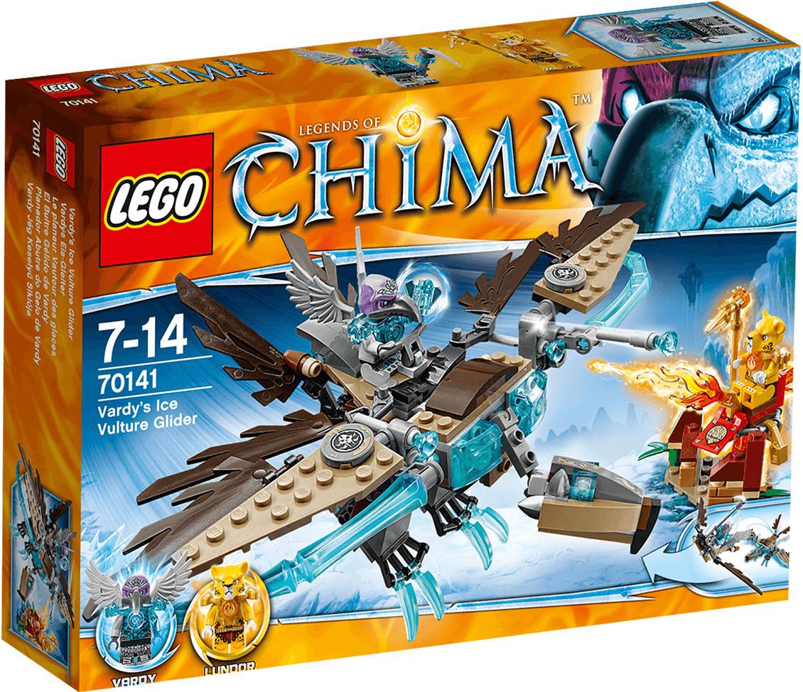 LEGO Legends of Chima - Le planeur Vautour des glaces (70141)