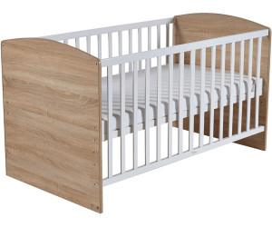 roba kinderbett lena eiche 70 x 140 ab 186 07 preisvergleich bei. Black Bedroom Furniture Sets. Home Design Ideas