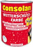 Consolan Wetterschutz-Farbe 2,5 l grün