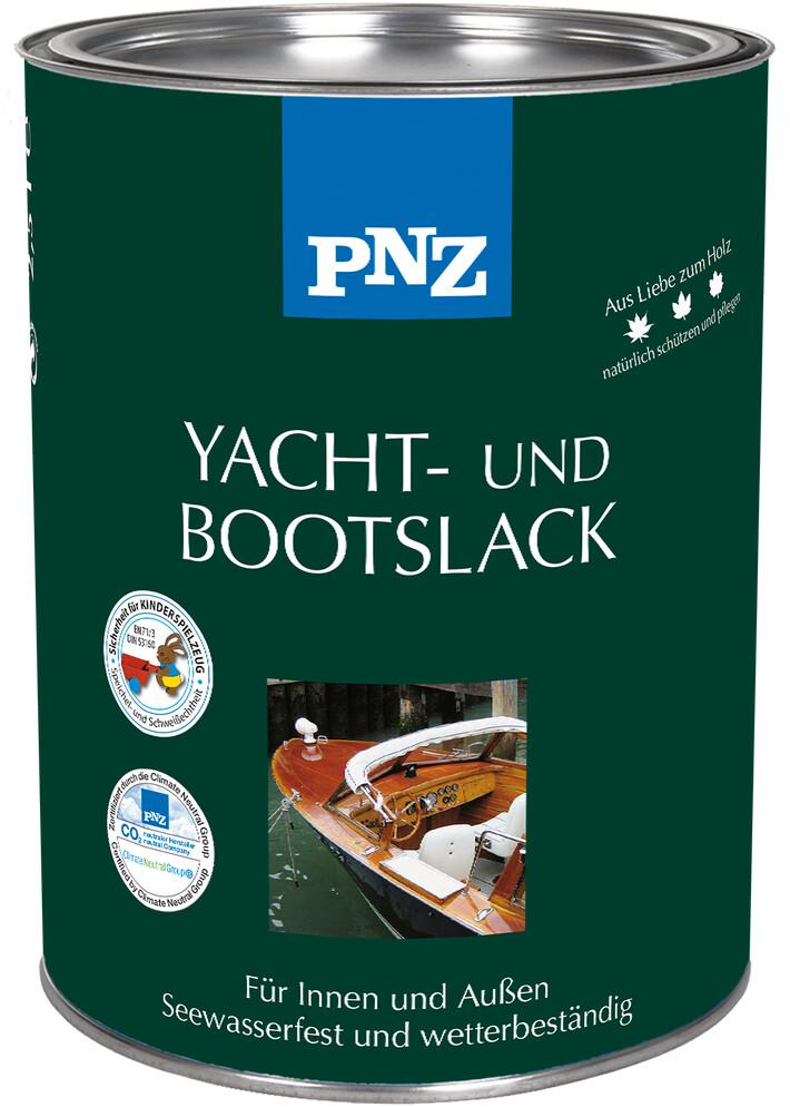 PNZ Yacht- und Bootslack: farblos - 0,75 Liter