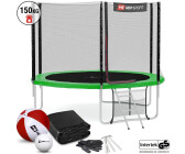 74d42fc2ba3f Hop-Sport Trampolin 10ft (305cm) mit Außennetz