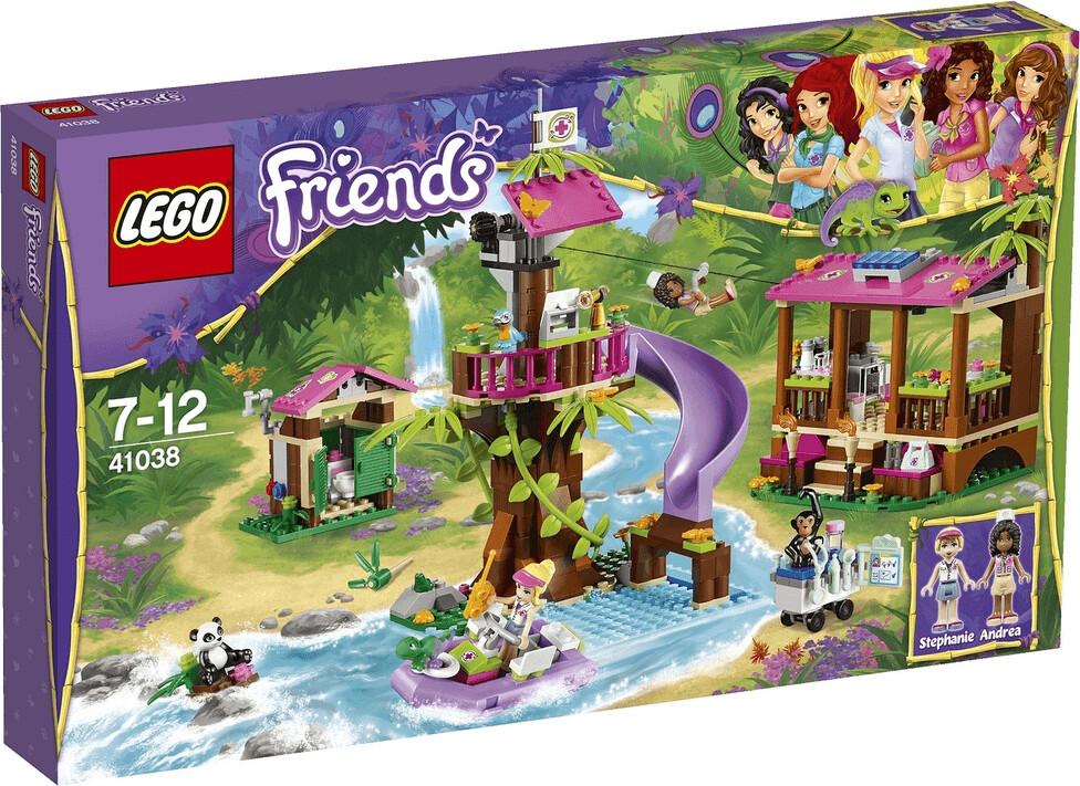 LEGO Friends - La base de sauvetage de la jungle (41038)