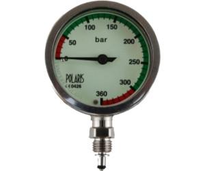 15 cm 0-360 bar 52 mm 39 Polaris Stage Fini TL mit Miflex HD Carbon Schlauch