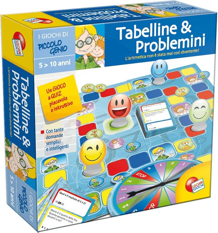 Lisciani Piccolo genio - Tabelline e Problemini