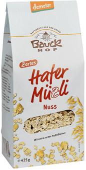 Bauckhof Hafer Müzli Nuss (425g)