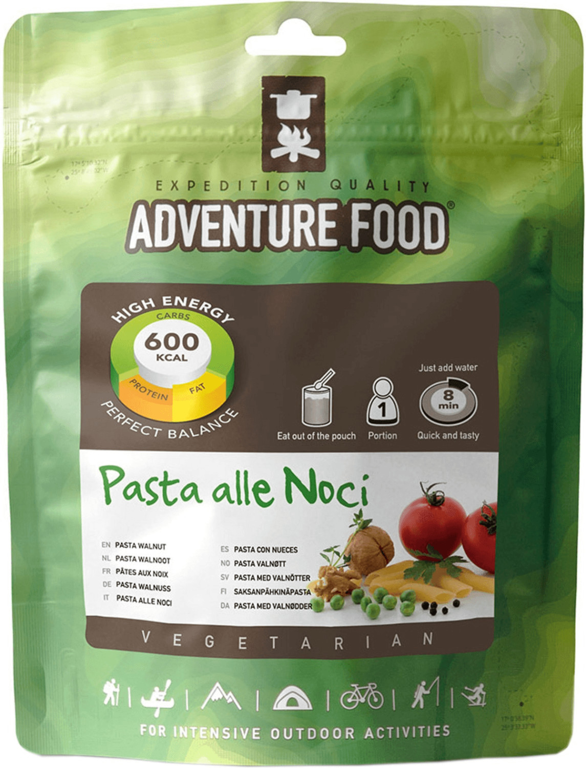 Adventure Food Pasta Walnuss (140g)