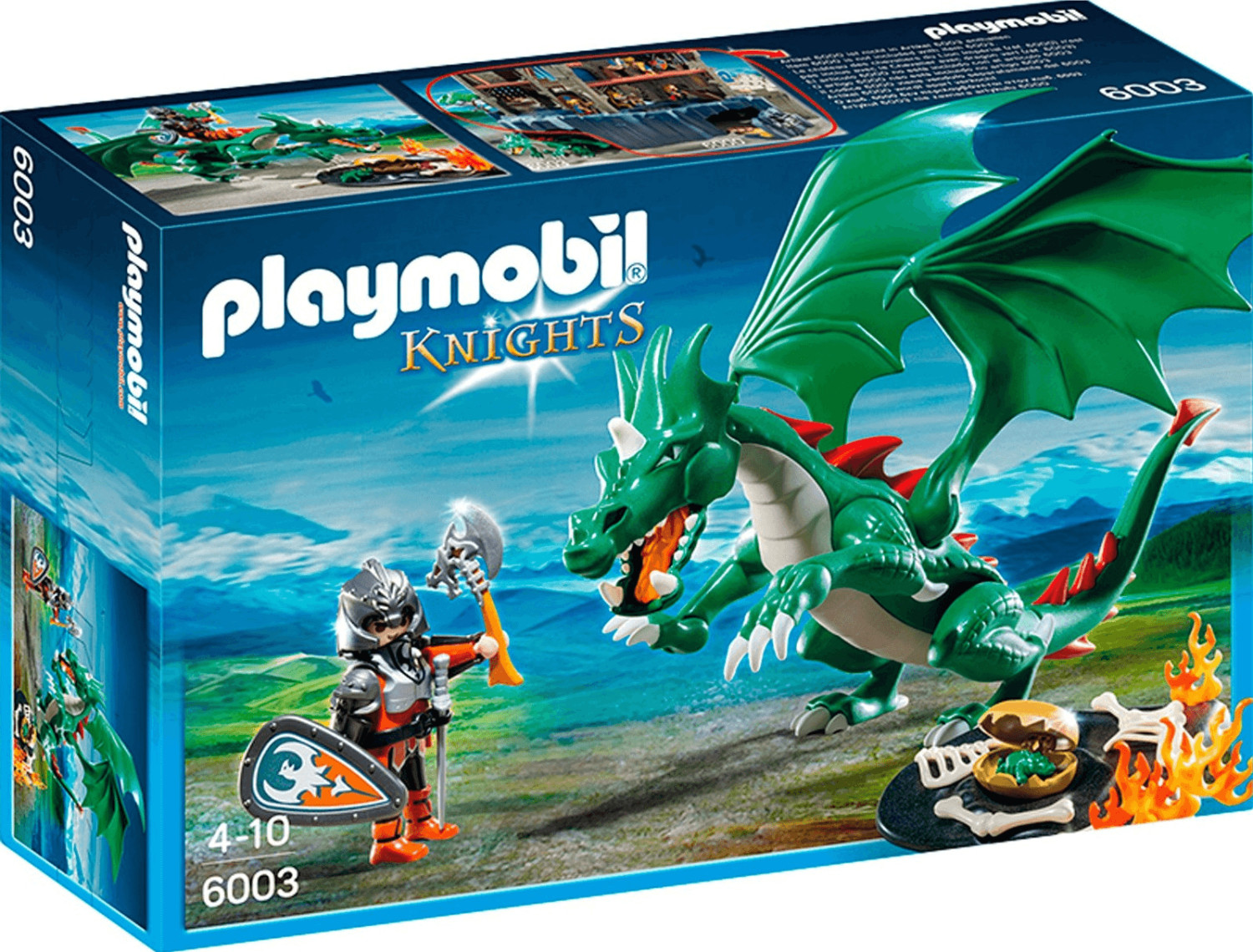 Playmobil Knights - Großer Burgdrache (6003)