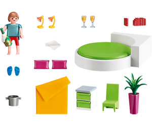 playmobil chambre avec lit rond 5583 au meilleur prix sur. Black Bedroom Furniture Sets. Home Design Ideas