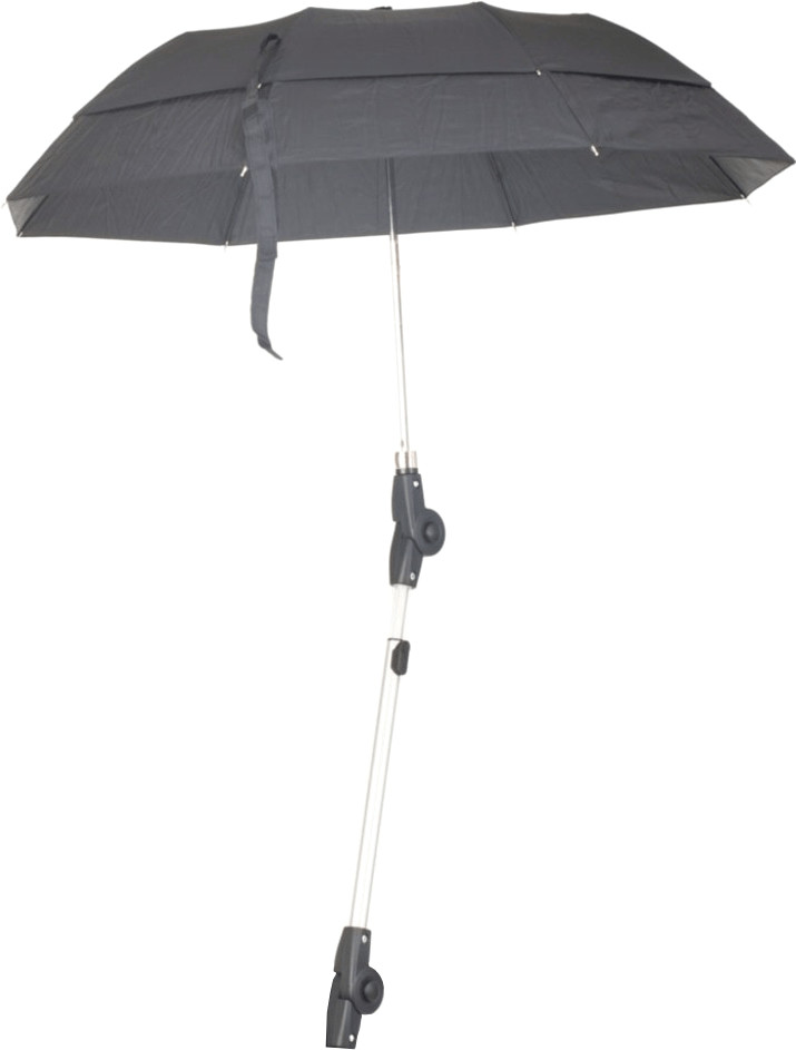 Russka Regenschirm mit Halterung für Rollator V...