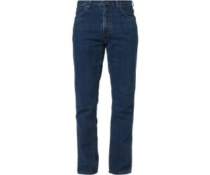 Wrangler Texas Stretch Jeans Darkstone Blue New Men's Straight Regular Fit Denim