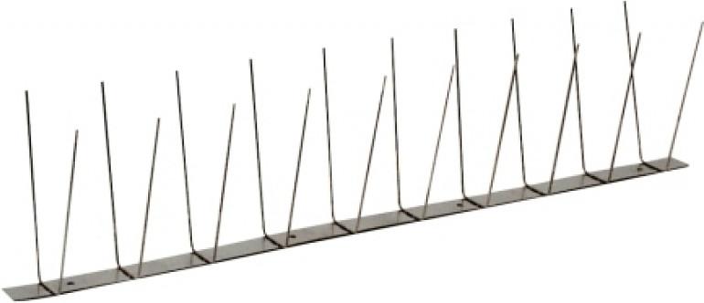 Nineka Taubenabwehr-Leiste 2 x 50cm (2-reihig)