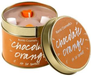 Bomb Cosmetics Chocolate Orange Candle