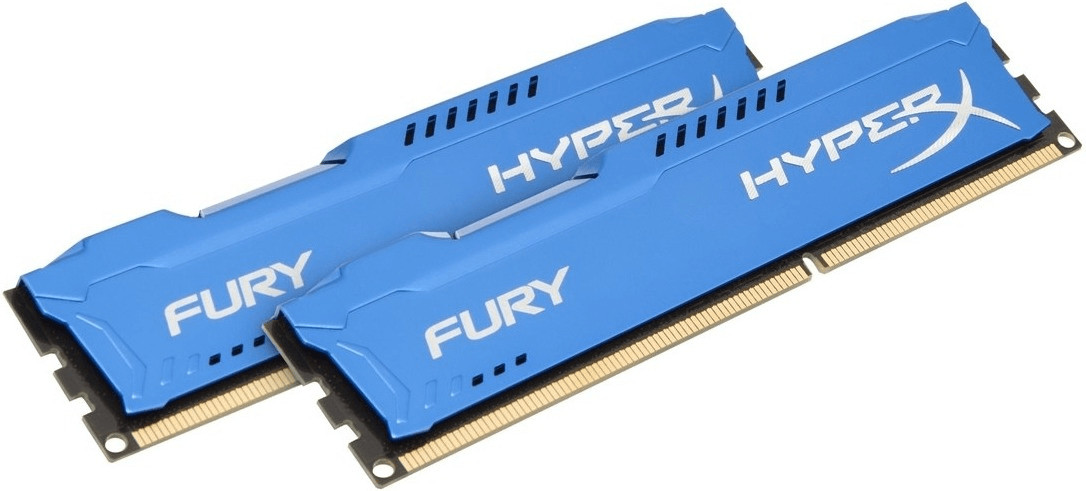 #HyperX Fury Blue 16GB Kit DDR3-1600 CL10 (HX316C10FK2/16)#