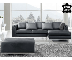 beliani ledercouch ledersofa oslo ab 799 00 preisvergleich bei. Black Bedroom Furniture Sets. Home Design Ideas