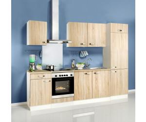 optifit padua k chenzeile 210cm ab 359 99 preisvergleich bei. Black Bedroom Furniture Sets. Home Design Ideas