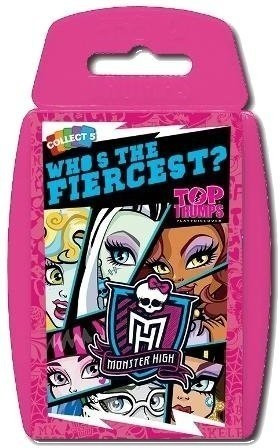Winning-Moves Top Trumps Monster High - Who´s t...