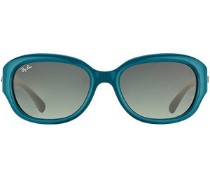 Ray-Ban RB 4198 6047/71 Sonnenbrille in green/grey 55/18 9pHno84rqN