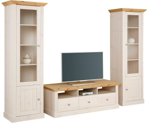home affaire wohnwand 270cm 3tlg wei ab 547 54 preisvergleich bei. Black Bedroom Furniture Sets. Home Design Ideas