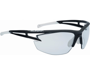 Alpina Sonnenbrille Performance Eye-5 VL+ Sportbrille, White Matt/Blue, S