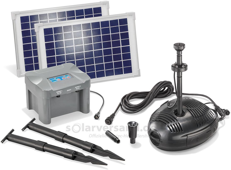 Esotec Solar Pumpensystem Milano LED