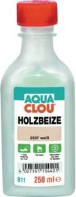 AQUA CLOU Holzbeize B11 weiß 250 ml
