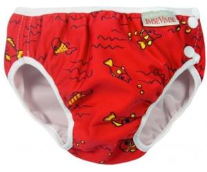 ImseVimse Swim Diaper Red Fish