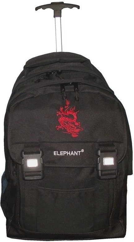 Elephant Schultrolley Dragon black