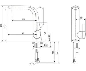 Ideal Standard Melange A6042aa Ab 18975 Preisvergleich Bei