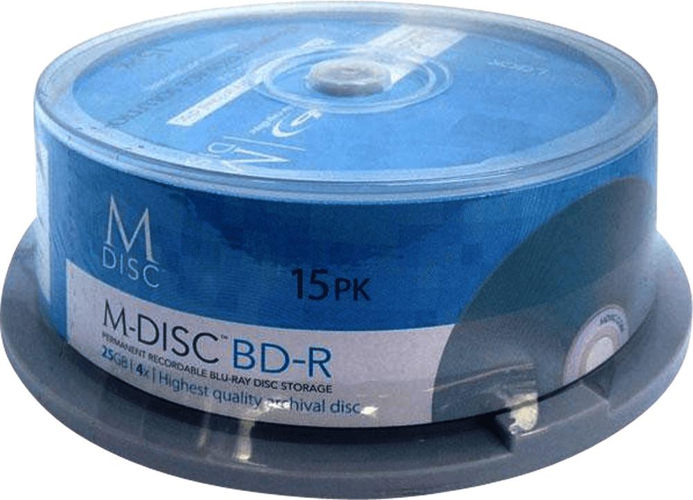 Image of Millenniata M-Disc BD-R 25GB 15er Cakebox