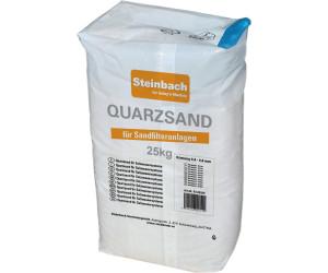 steinbach quarzsand 25 kg 0 7 1 2 mm ab 8 83 preisvergleich bei. Black Bedroom Furniture Sets. Home Design Ideas