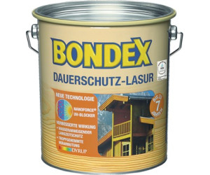 bondex dauerschutz lasur 4 l rio palisander 898 ab 54 80 preisvergleich bei. Black Bedroom Furniture Sets. Home Design Ideas