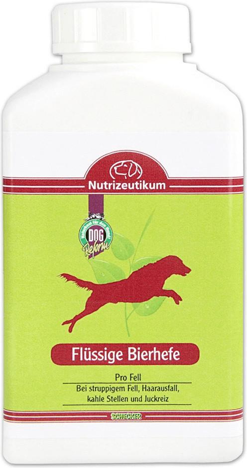 Schecker Dogreform Wellness Flüssige Bierhefe 5...