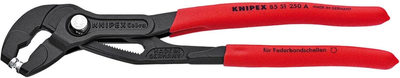 Knipex Federbandschellenzange 250 mm (85 51 250 A)
