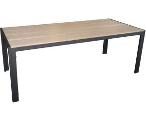 Multistore 2002 Gartentisch Non Wood 205 X 90 Cm (Alu Polywood)
