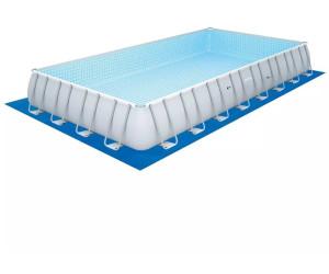 Bestway piscina rettangolare 956 x 488 x 132 cm a - Piscina bestway opinioni ...