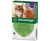 Bayer Santé Familiale Advantage 80 pour chat 4 pipettes