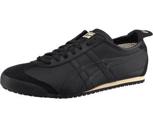 Asics Unisex-Erwachsene Onitsuka Tiger Mexico 66 Slip-on Sneaker, Schwarz (Black/Black 9090), 42.5 EU