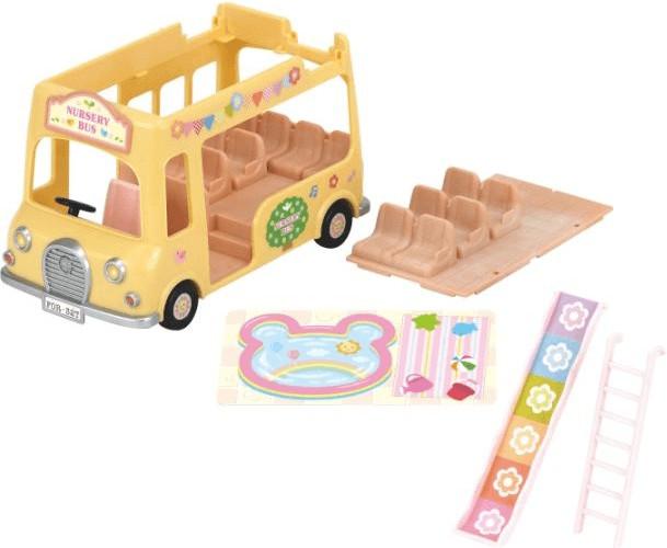 Sylvanian Families Nursery Double Decker Bus