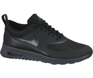 Nike Air Max Thea Premium Schuhe Damen Schwarz Blau Schwarz