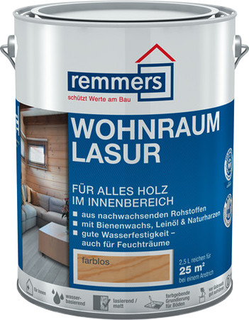 Remmers Wohnraum-Lasur 2,5 l birke