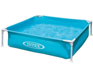 Intex frame kinderpool mini 122 x 122 x 30 cm ab 18 49 for Bestway vs intex