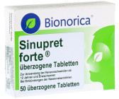 sinupret forte dragees 50