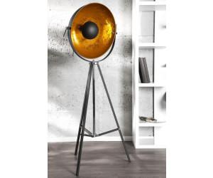 Invicta Interior 18692 Stehleuchte Big Studio 160cm Schwarz Gold Stehlampe