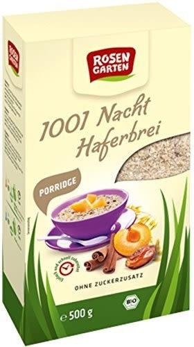 Rosengarten Bio Porridge 1001 Nacht Haferbrei (500 g)