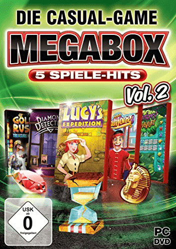 Die Casual-Game Megabox: 5 Spiele-Hits - Vol. 2...