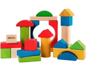Image of Brio 25 Coloured Blocks