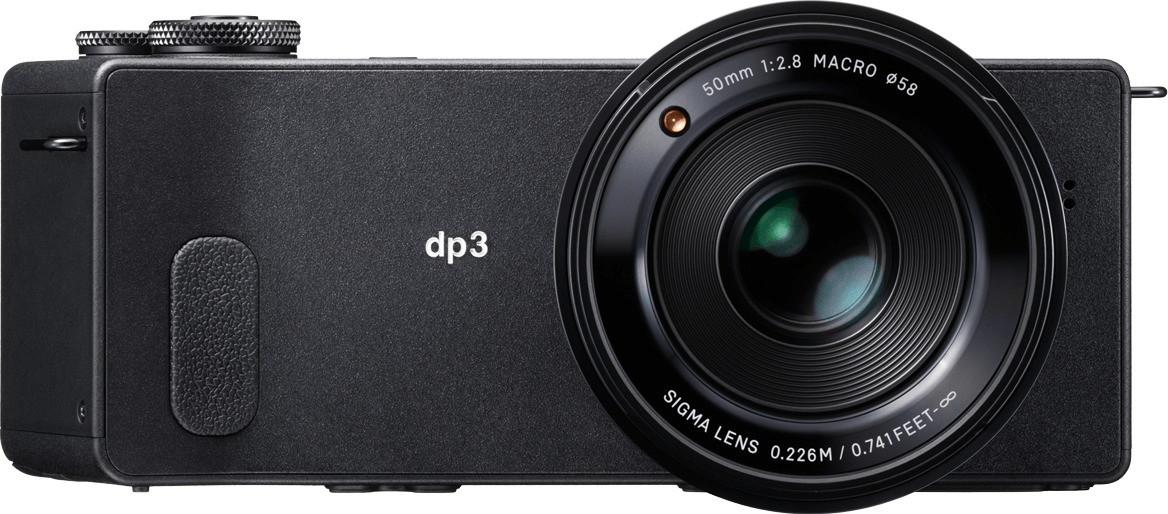 Sigma DP3 Quattro Black compact Digital Camera