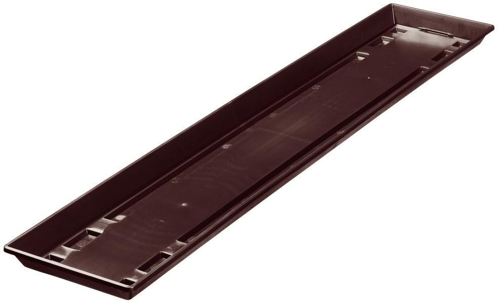 geli Standard Blumenkasten-Untersetzer 100cm braun