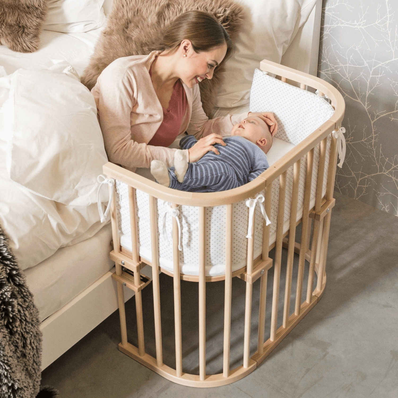 Babybay Original Buche (extrabelüftet) (seidenmatt klarlackiert) (100111)