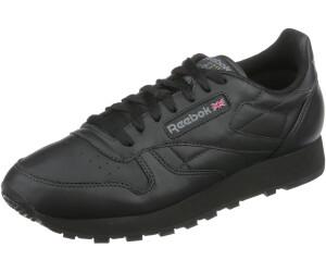 solamente Gestionar activación  Reebok Classic Leather all black desde 62,25 €   Compara precios en idealo
